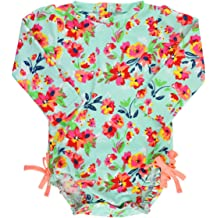5f0c7eb8d3d6a RuffleButts Baby/Toddler Girls UPF 50+ Sun Protection Long Sleeve One Piece  Swimsuit with